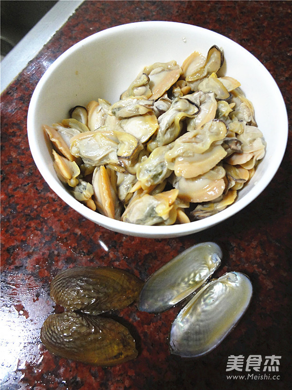 韭菜苔炒蚌肉的做法大全