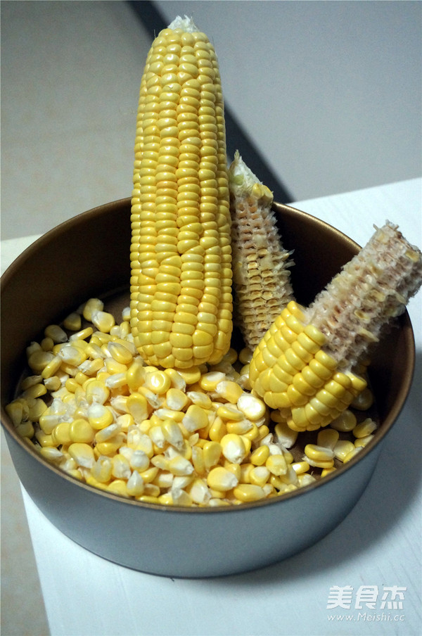 鲜榨牛奶玉米汁的做法图解