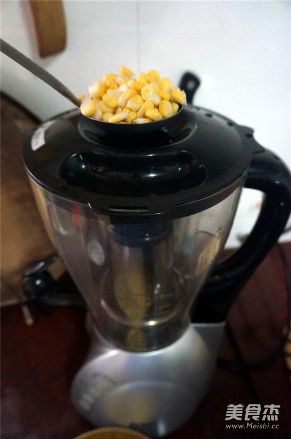 鲜榨牛奶玉米汁的简单做法