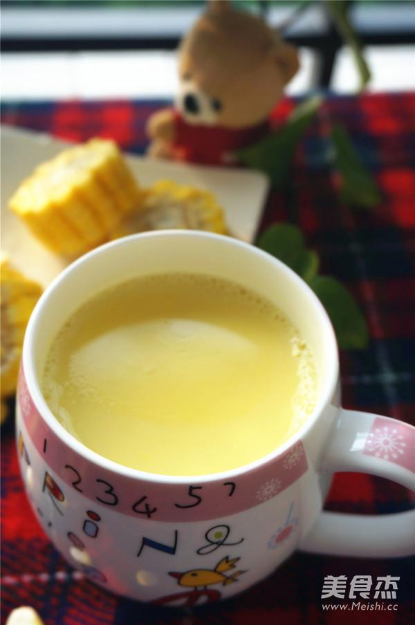 鲜榨牛奶玉米汁怎么煮