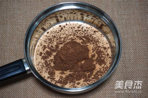巧克力布丁的做法图解