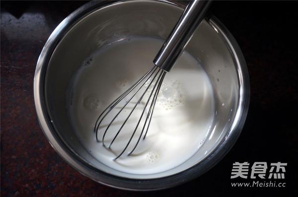 鲜奶冰淇淋的家常做法