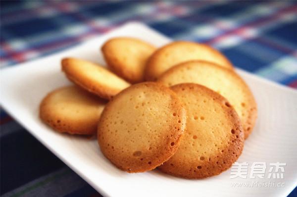 椰奶粉蛋白脆脆餅成品圖