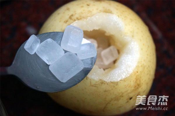 冰糖炖雪梨的简单做法