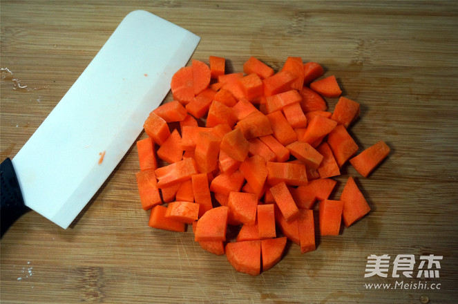 胡萝卜面的做法图解