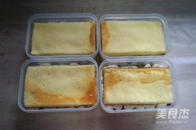 水果盒子蛋糕的步骤