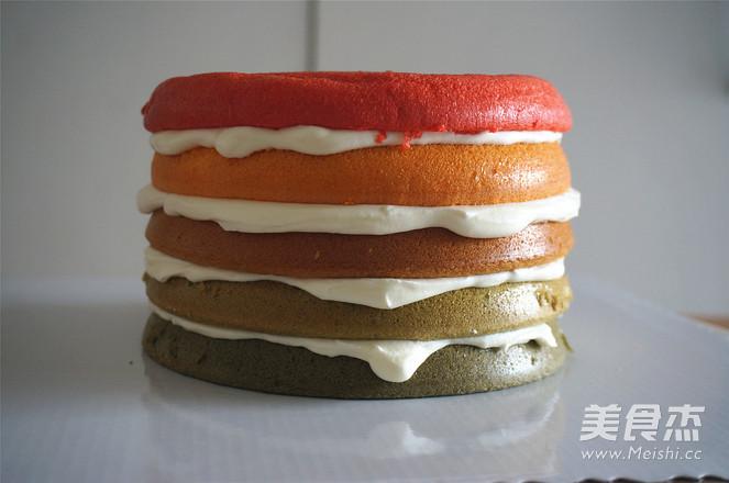 彩虹蛋糕怎么炖