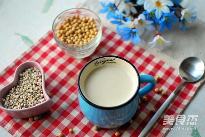 祛湿薏米豆浆怎么做