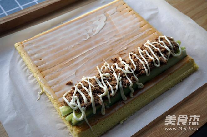 金枪鱼寿司蛋糕卷怎样炒