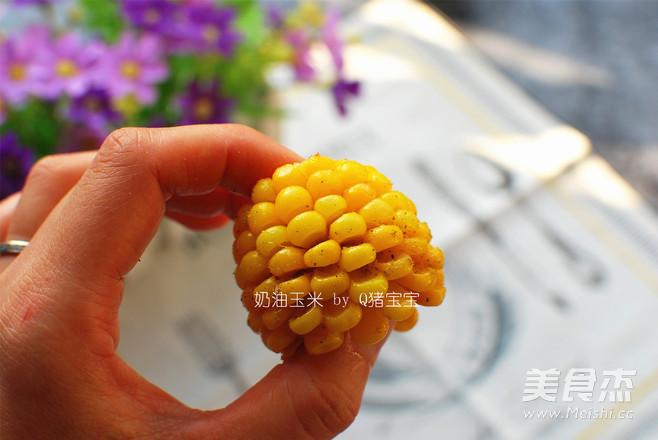 微波奶油玉米怎么炒