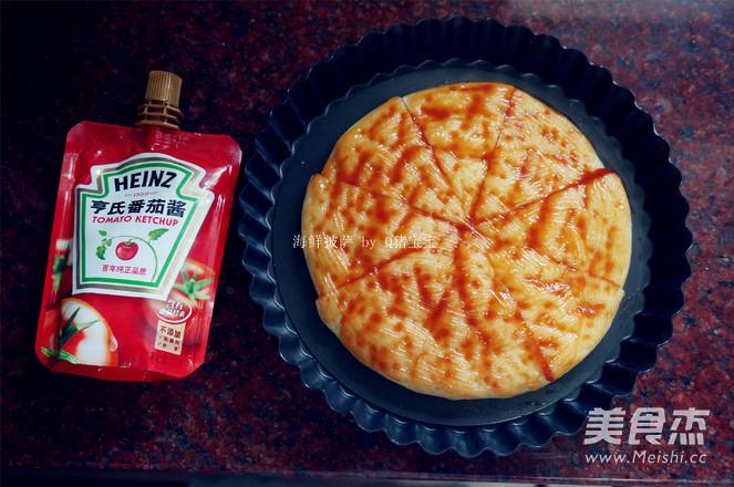 海鲜披萨的做法图解