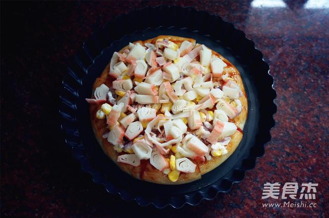 海鲜披萨的简单做法