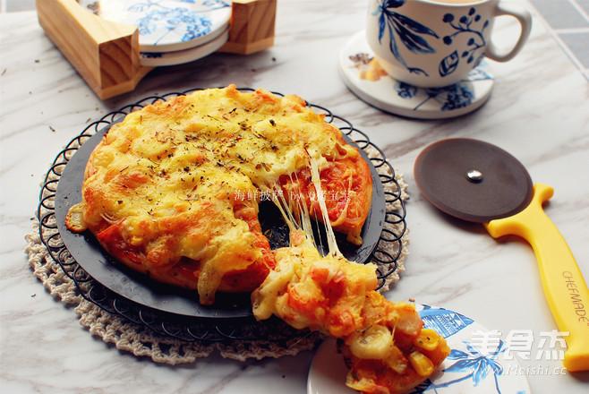海鲜披萨怎么煮