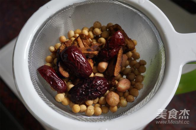 花生红枣豆浆的做法图解