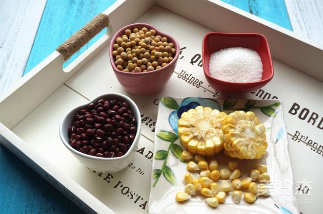 玉米红豆豆浆的做法大全