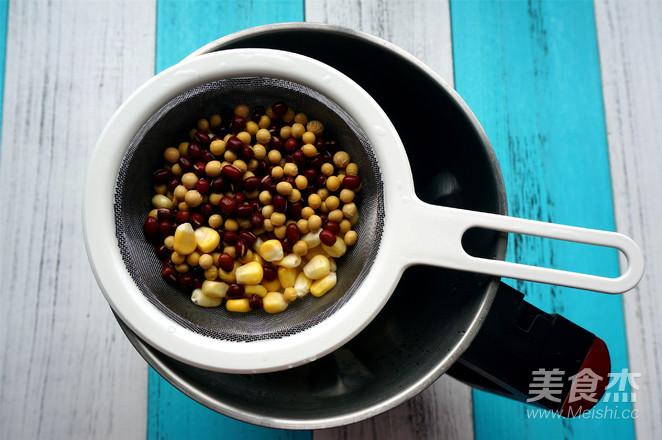 玉米红豆豆浆的做法图解