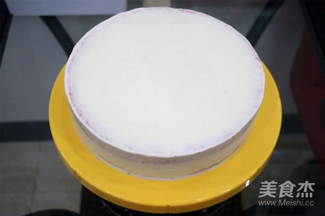 9寸棋格蛋糕怎样做