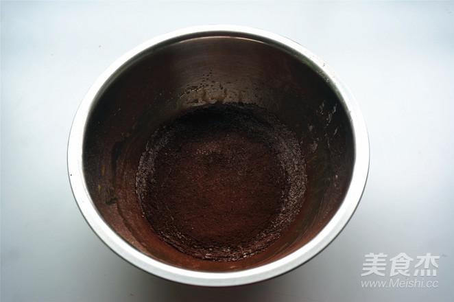 巧克力北海道戚风的简单做法