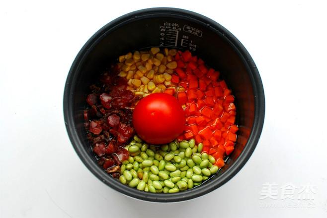 懒人饭:一只番茄饭怎么炖