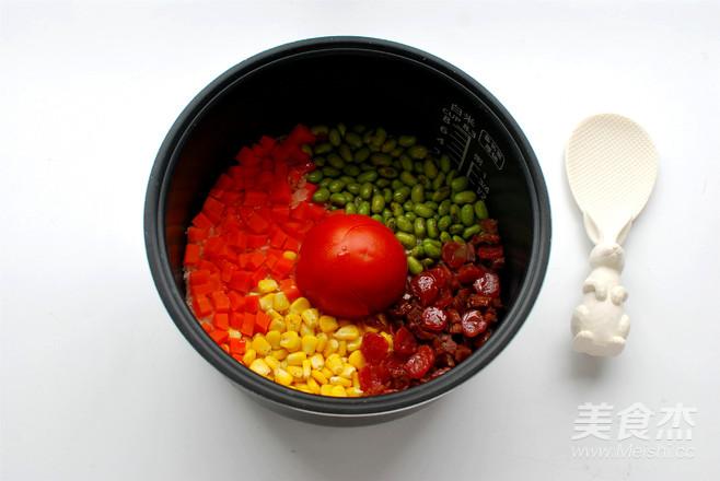 懒人饭:一只番茄饭怎样煸