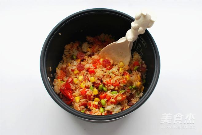 懒人饭:一只番茄饭怎样做