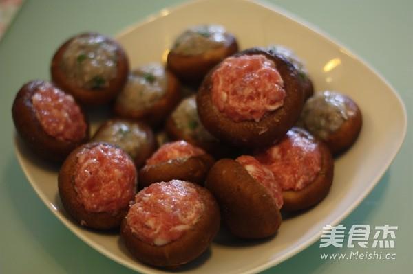 酿香菇的家常做法