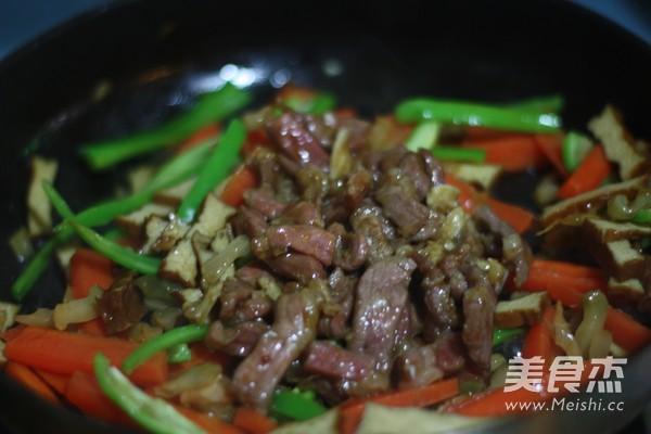 香干胡萝卜炒肉丝怎么煮