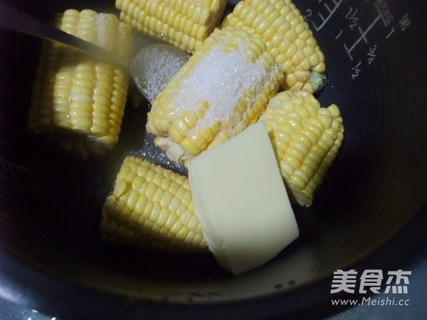 奶油玉米棒的家常做法
