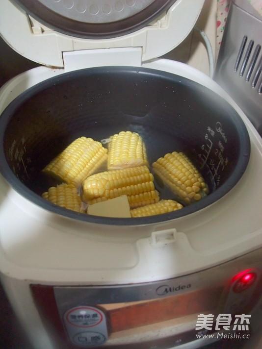奶油玉米棒的简单做法