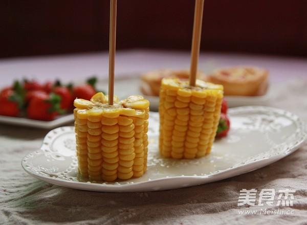 奶油玉米棒怎么吃