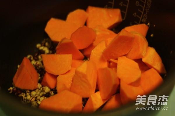 红薯杂粮粥的简单做法