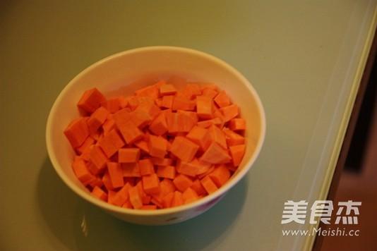 红薯红枣米糊的家常做法