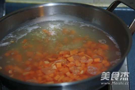 红薯红枣米糊的简单做法