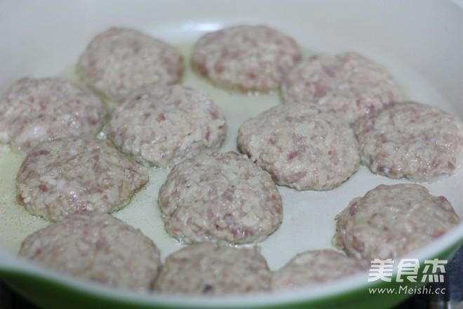 照烧莲藕肉饼的简单做法