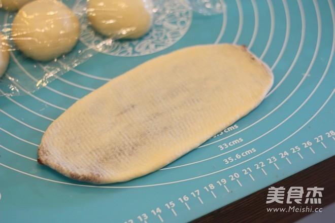 豆沙环形面包怎么做
