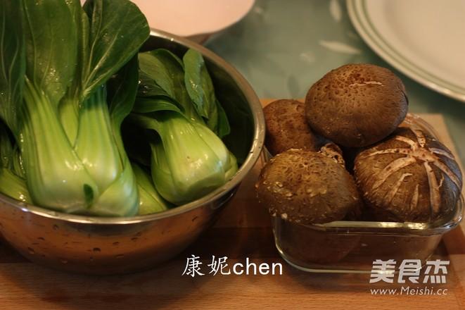 香菇炒青菜的做法大全