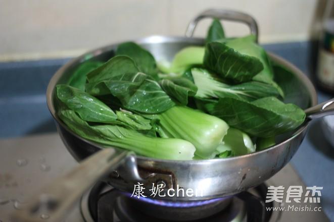 香菇炒青菜怎么炒