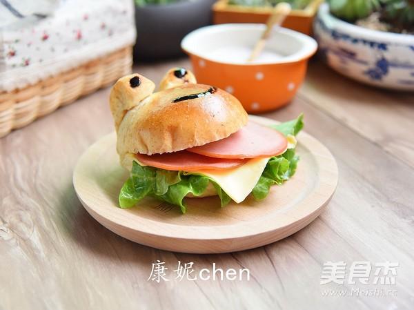 青蛙火腿汉堡包怎么炖