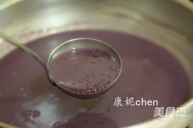 紫薯杂粮西米露怎么炖