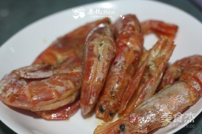 咖喱虾的家常做法