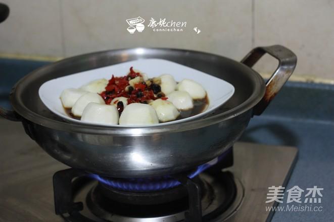 剁椒蒸芋头的简单做法