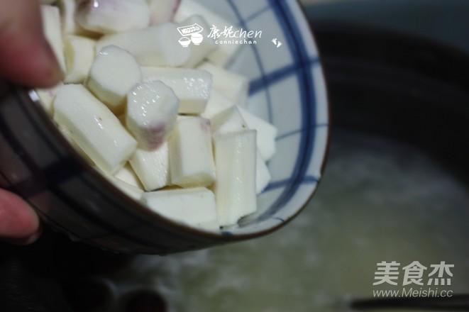 山药小米红枣粥的家常做法
