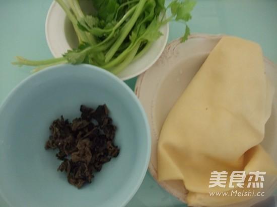 凉拌木耳豆腐皮的做法大全