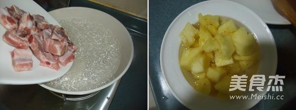 菠萝烧排骨的做法图解