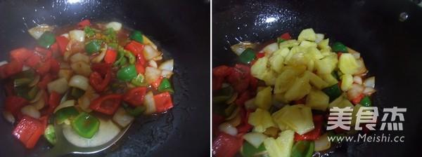 菠萝咕噜肉怎么炒