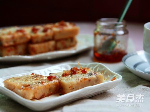广式萝卜糕的制作方法