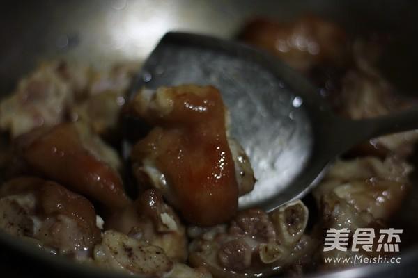 红烧腐乳猪蹄怎么炒