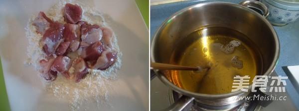 菠萝咕噜肉的简单做法