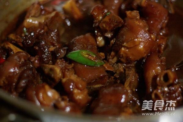 红烧腐乳猪蹄怎样煮
