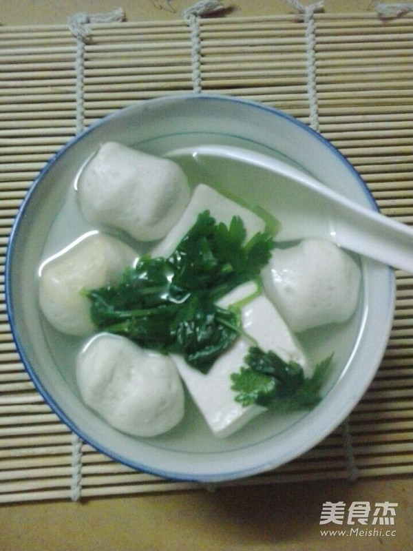 豆腐汤成品图